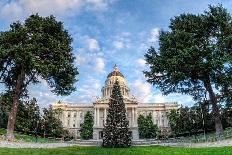 California Sacramento state capitol F5F97B 1