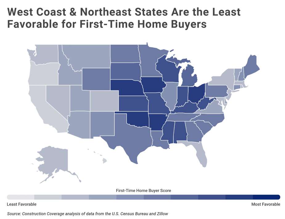 Chart3 Toughest states for first time home buyers
