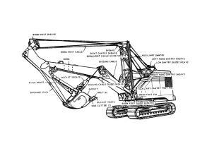 Mobile Crane Diagram