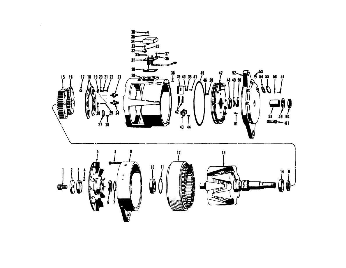 Ford 2g Alternator Wiring Harness