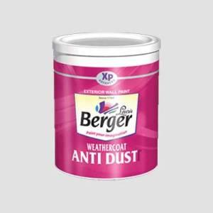 Berger Weathercoat Anti Dust Paints