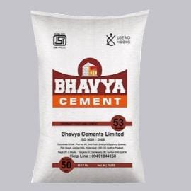 Bhavya cement price