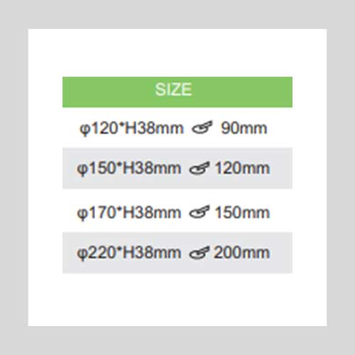 ACE COSMO SIZES