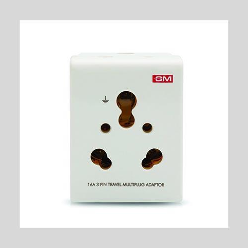 3 pin multi plug adapter