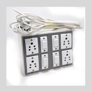 THE BLACK KNIGHT Portable Plastic Switch Board