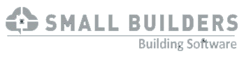 Small Builders Building Software Logo