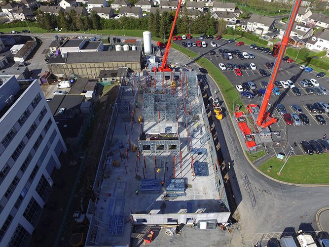 Clancy Delivering Two Covid-19 Medical Facilities In 14 Weeks
