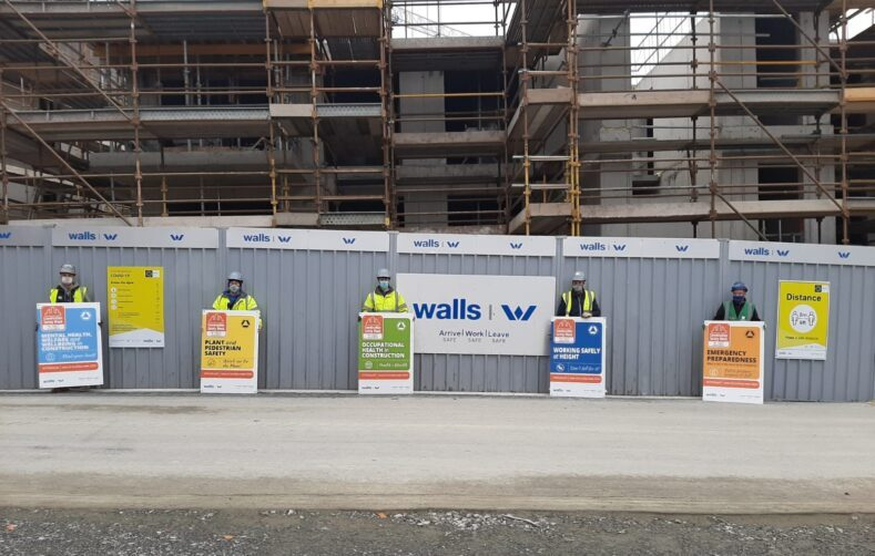 Walls Construction Safety Week