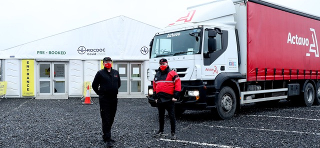 Actavo Event Solutions picked to deliver infrastructure for trucker Covid-19 testing facilities
