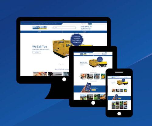 Laois Hire website