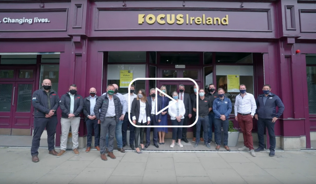 Contractors, architects and engineers team up for Focus Ireland to deliver essential HQ refurbishment