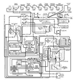 Figure 225 24 vdc Circuit Wiring Schematic (200 AMP