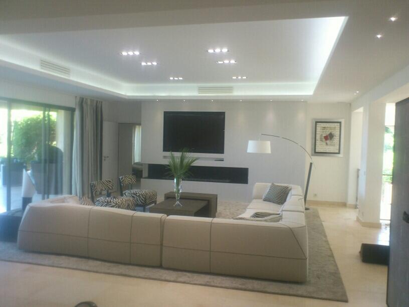 Faux Plafond Corniche Lumire Indirecte Dream House