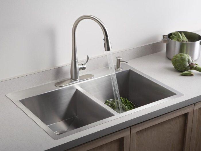 single vs double basin kitchen sinks