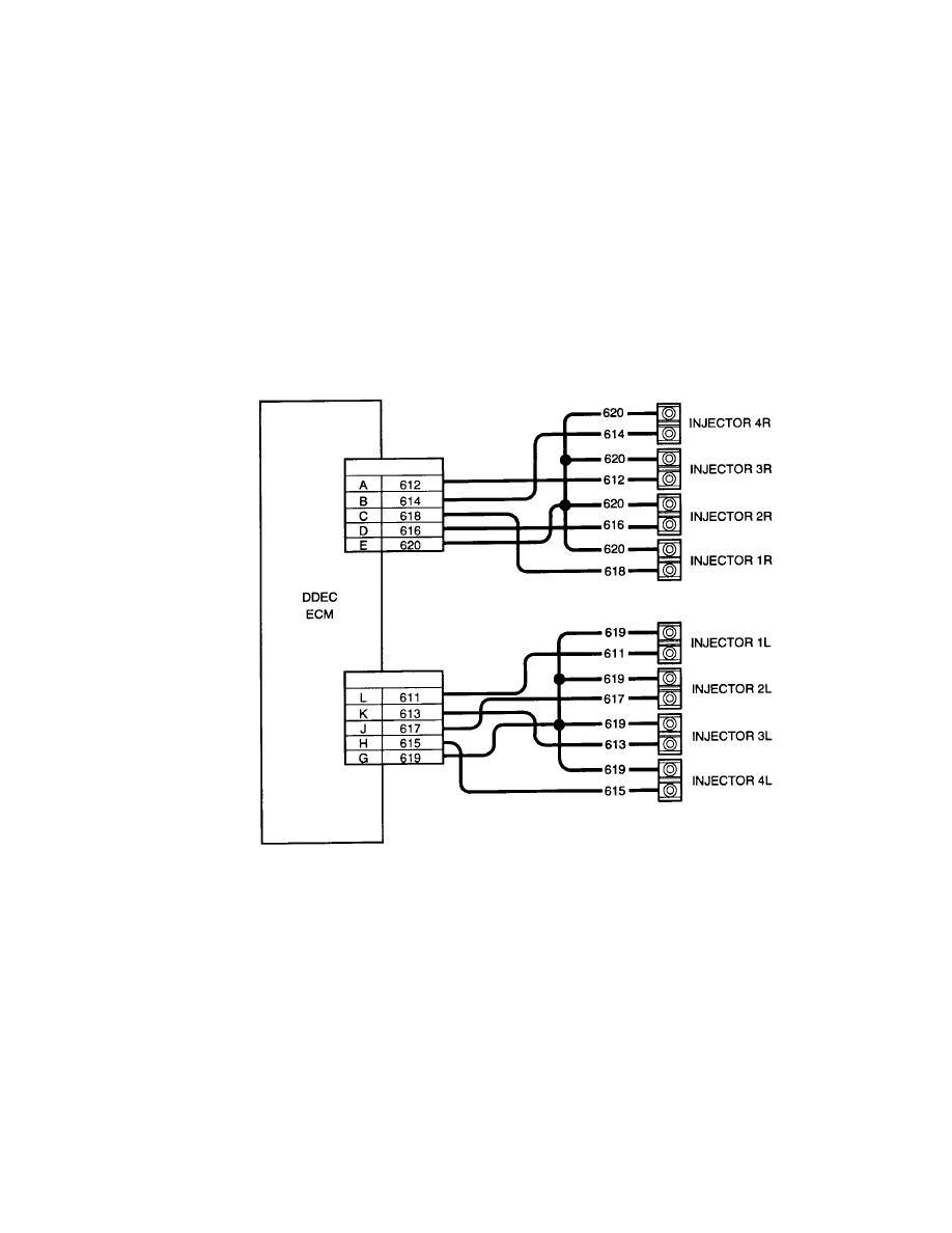 detroit sel ddec iv ecm wiring diagram 4 wire to 6 wire trailer diagram elsavadorla