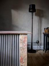 Industrial Desk with Concrete Slab