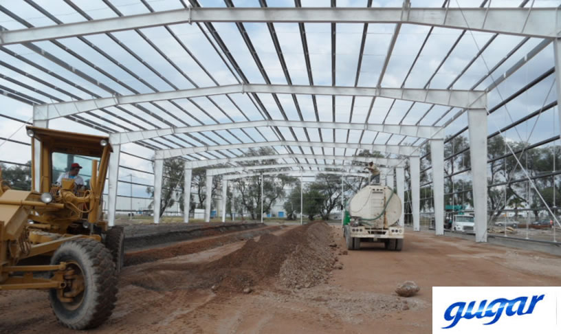Fabricación de estructuras para naves industriales