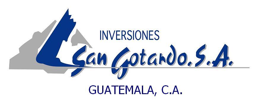 Inversiones San Gotardo, S. A.