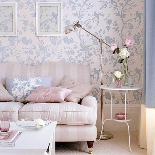 Resultado de imagem para decoração com papel de parede