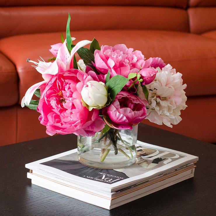 Resultado de imagem para jarro com lindas e diversificadas flores