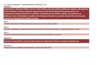 Direitos Humanos - Sistema Prisional e Fundação CASA