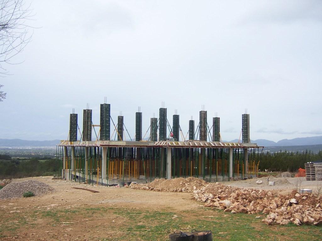 Pilar de hormigón