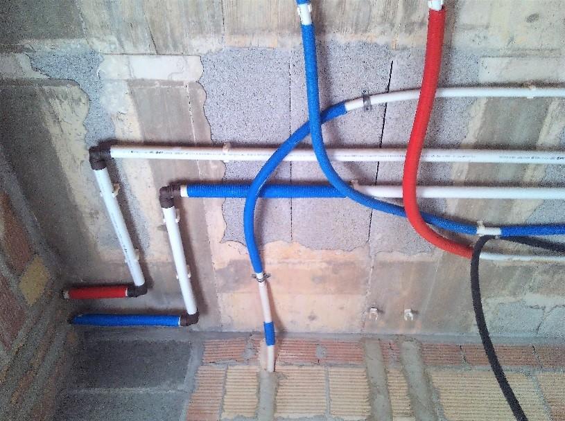 Instalación de fontanería