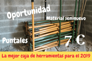 PUNTALES DE OCASIÓN