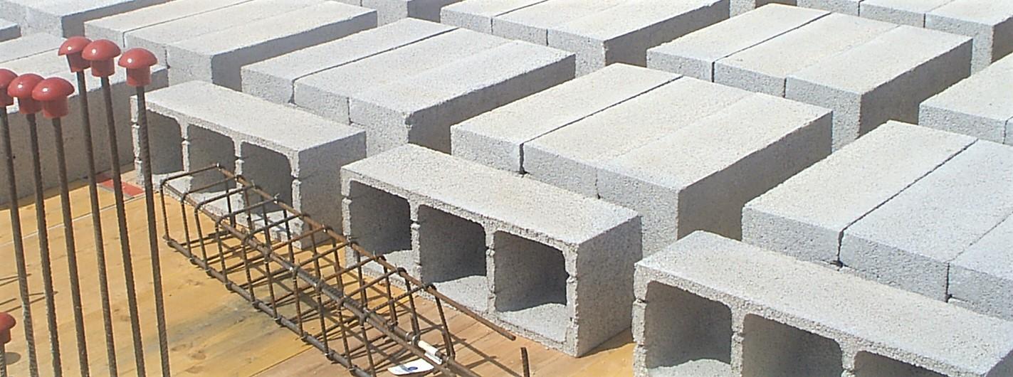 Casetón de hormigón que forma parte del forjado reticular