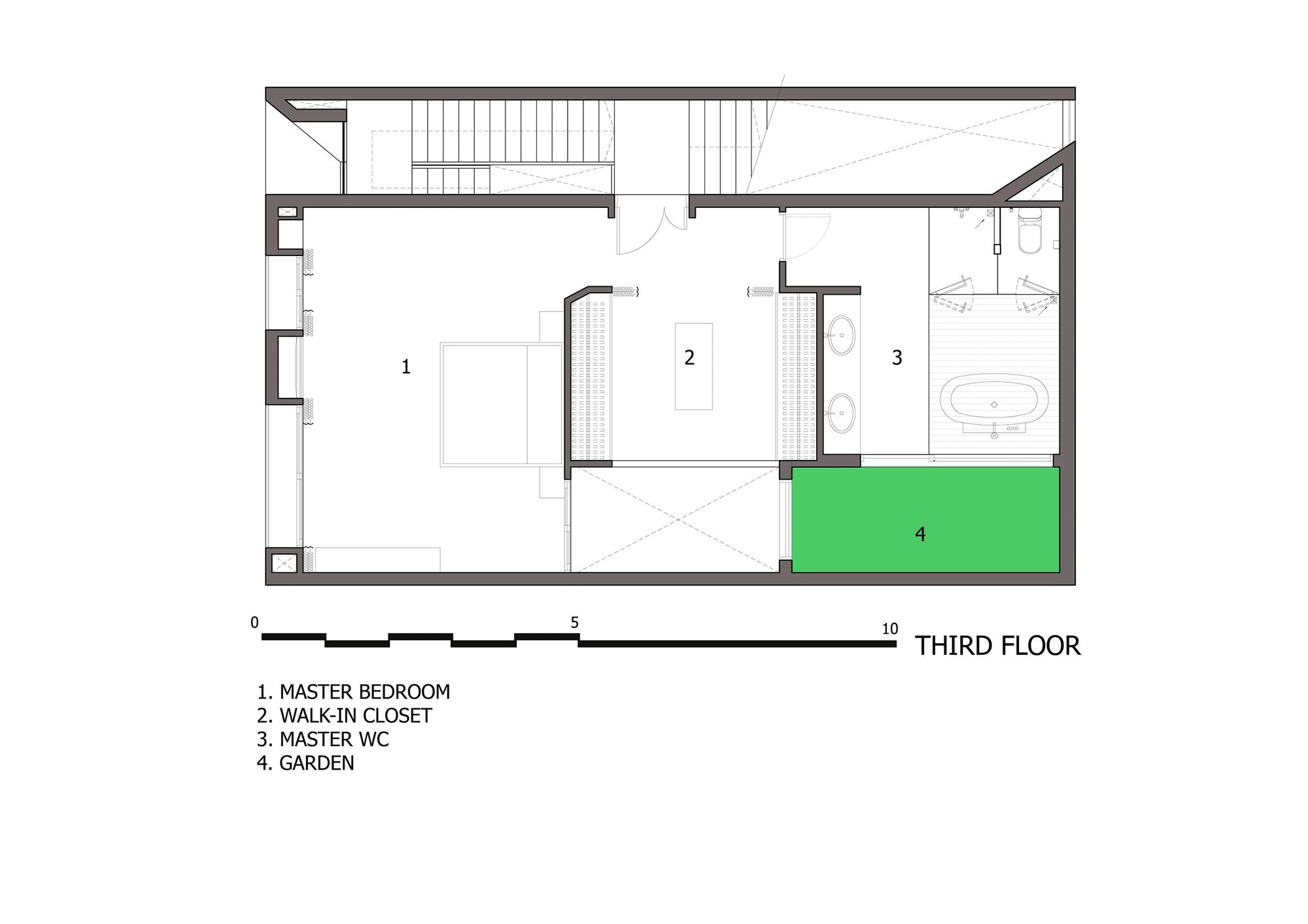 Diseno De Casa Moderna De Tres Pisos Planos Y Fachada