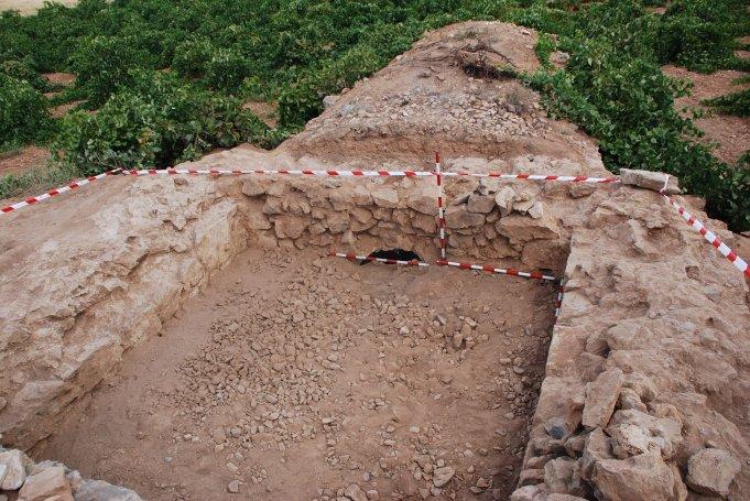 Excavación presa