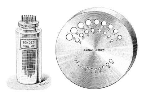 Sondas para calibraje y dilatación uretral (Hamonic, 1893)