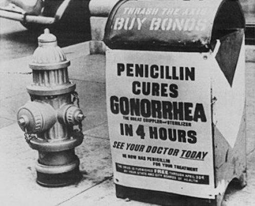 La frecuencia de la estenosis de uretra tras uretritis gonocócica disminuyó con la Penicilina