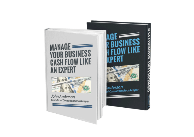 Images of Two Books: Manage your Business Cash Flow Like an Expert