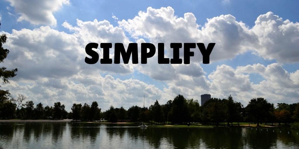 simplify bookkeeping