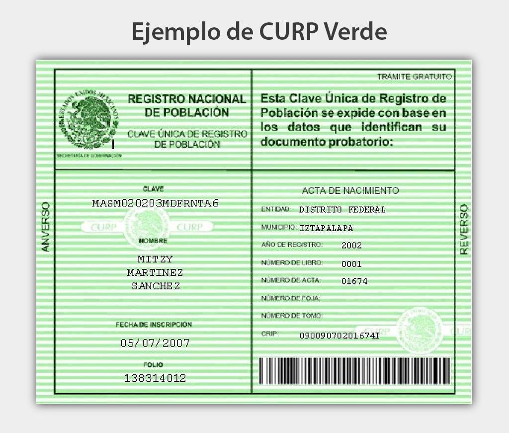 Ejemplo-CURP-Verde