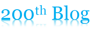 200th Blog