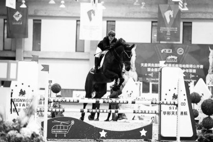 Horse in Asia Competition in China Marion Vörgers