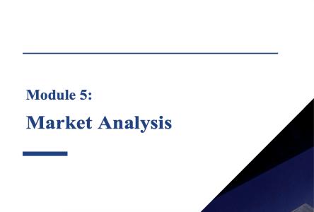 Module 5: Market Analysis