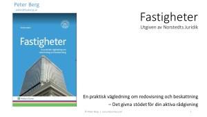 "YouTube Presentation ""Real Estates"" | ""Fastigheter"""