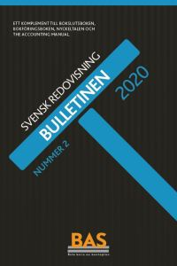 Nedsättning av aktiekapitel i Bulletinen 2/2020