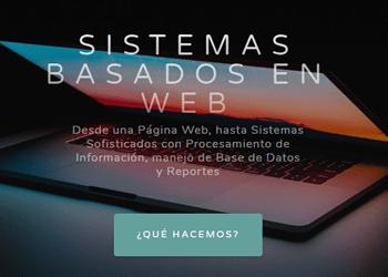 Sistemas y Páginas Web - TuPaginaEnWeb.com