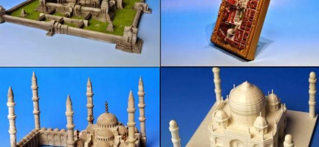 Tokyo Virtual World создает 3D-печатные копии мировых достопримечательностей