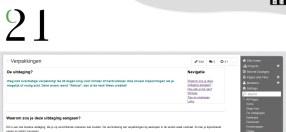 Een blik achter de schermen van de deelnemerswiki.
