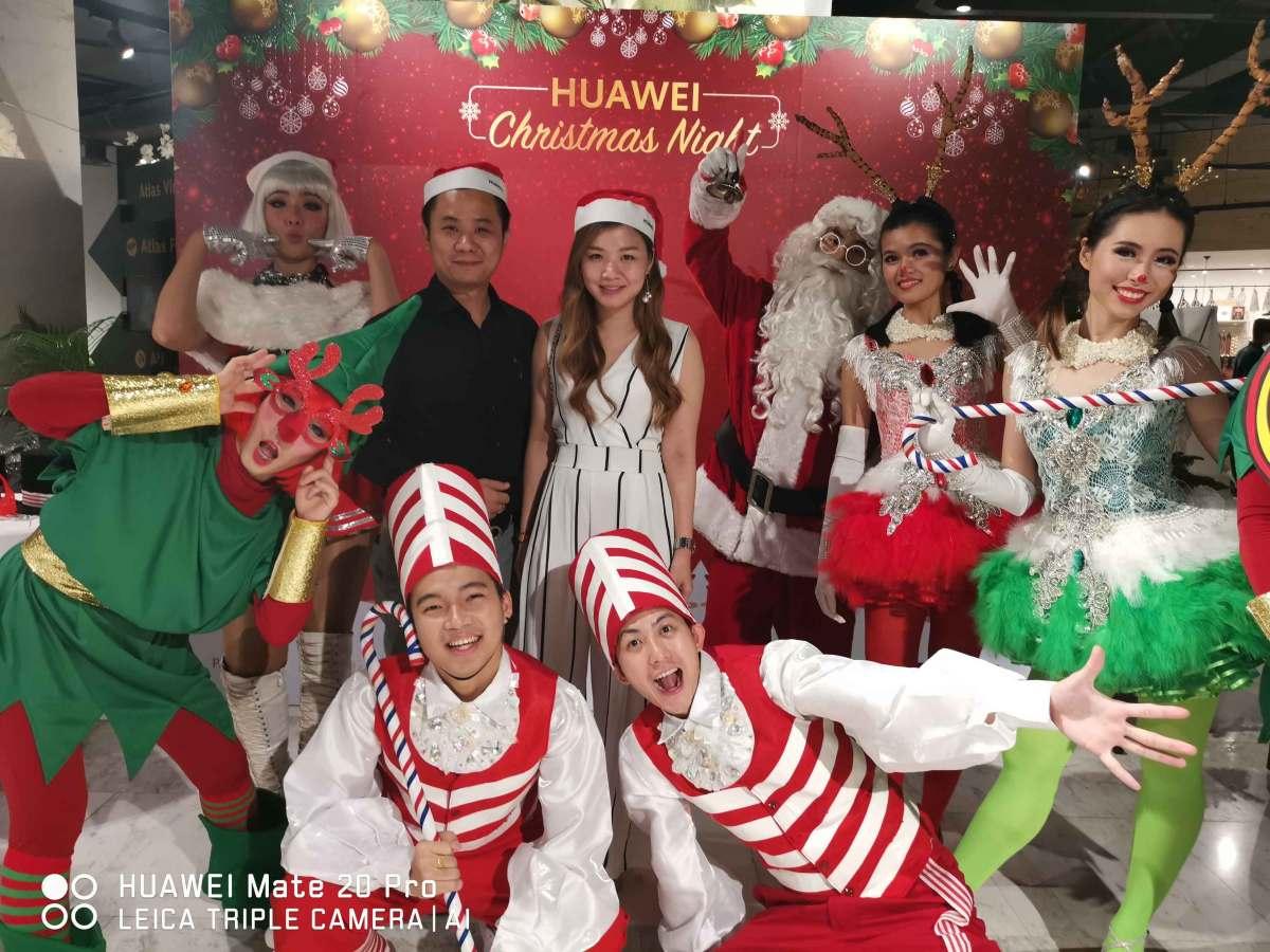 HUAWEI Christmas Night Media Report