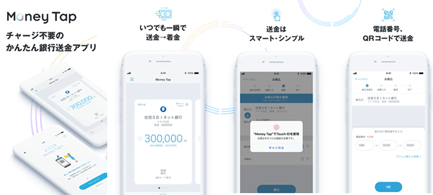 Money Tapアプリで何ができるのか