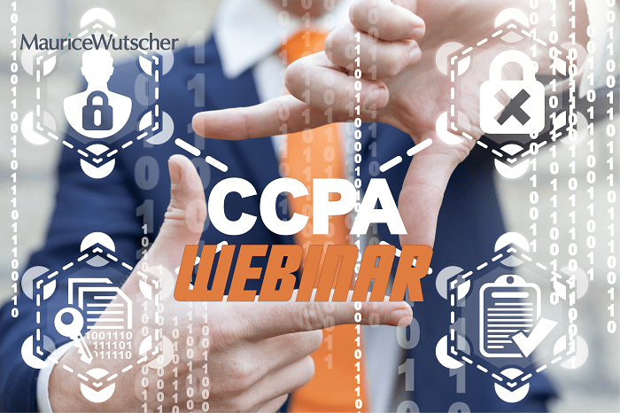 CCPA California Consumer Privacy Act webinar