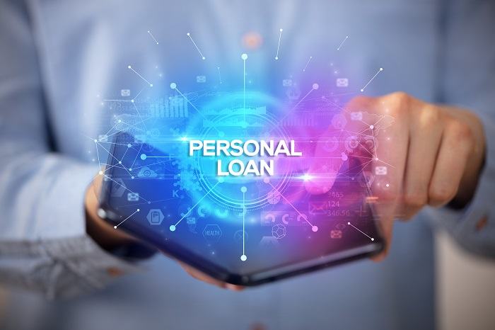 Personal loan phone application