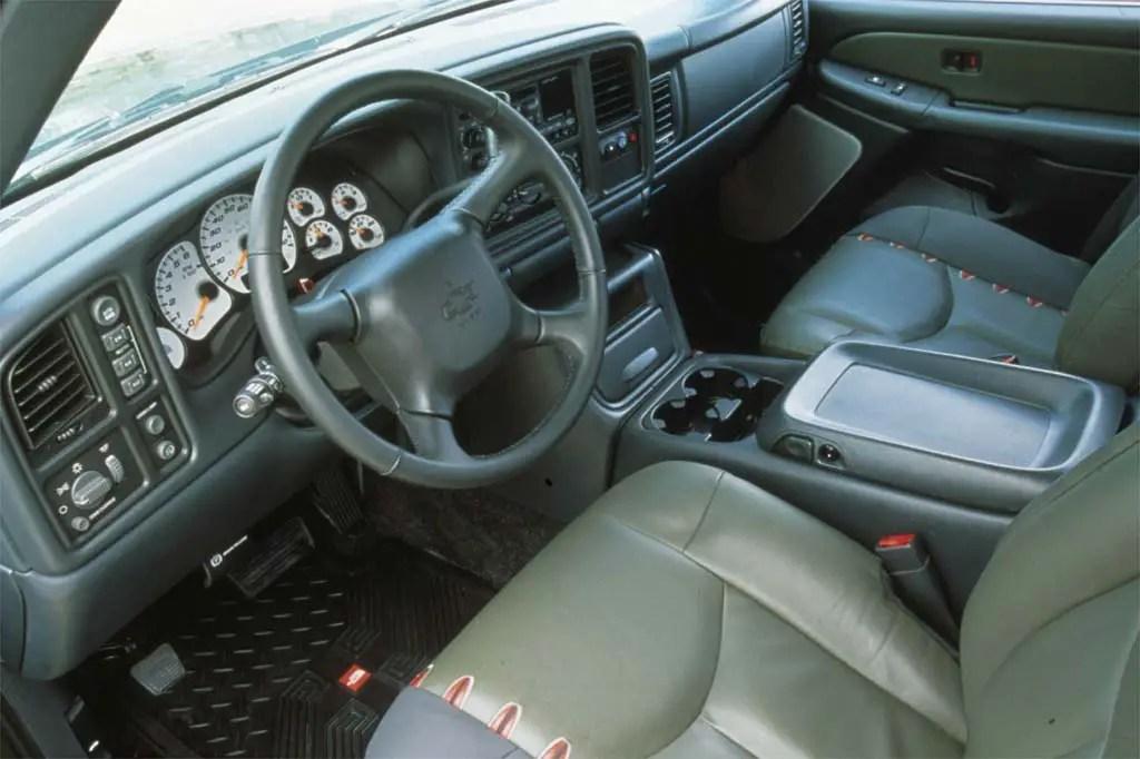 2005 Tahoe Rear Interior