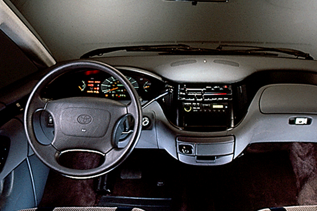 1991 97 Toyota Previa Consumer Guide Auto